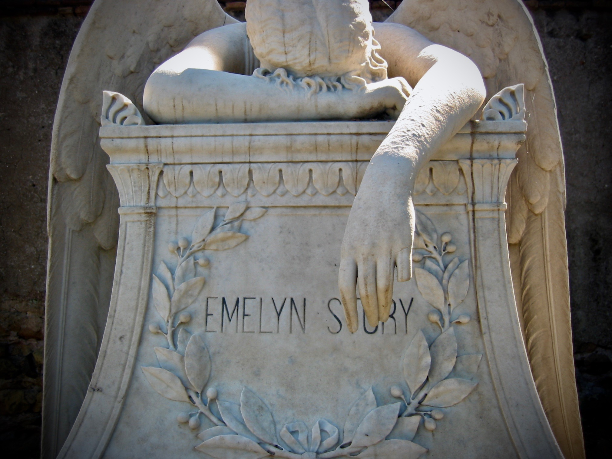emelyn story sculpture by william wetmore story