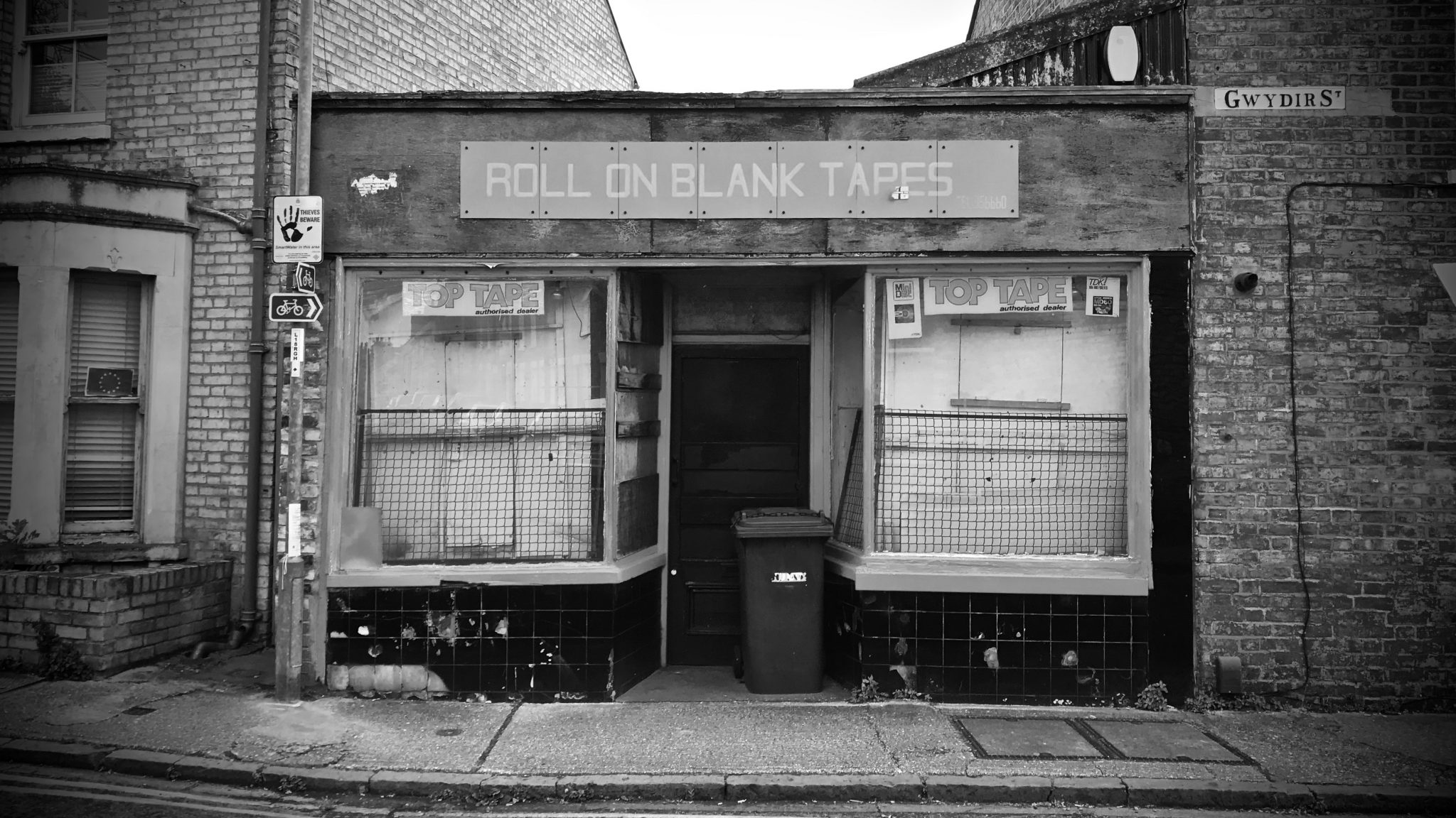 Roll On Blank Tapes, Gwydir street